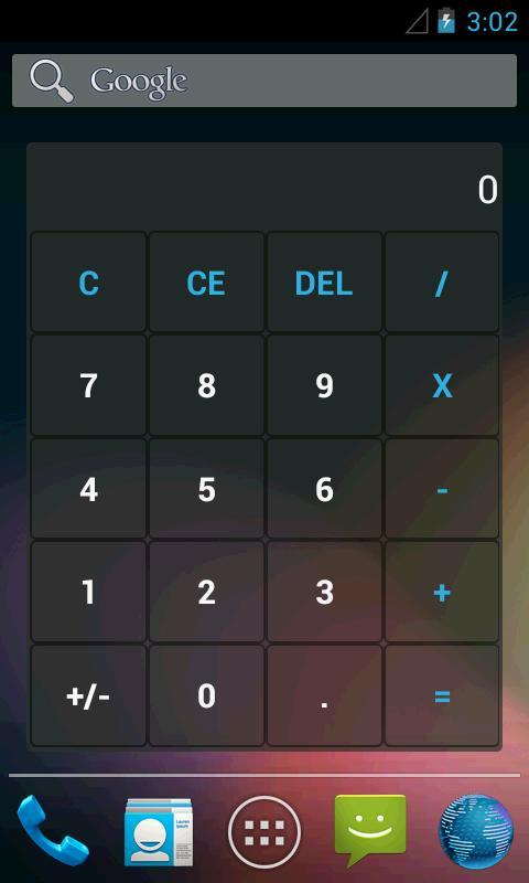 Genius Calculator Widgets Android Lication